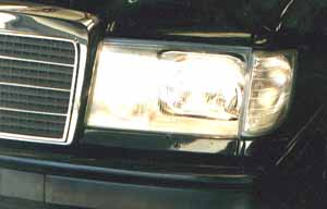 300e w124 7 93 39 95 european headlights w for Mercedes benz 190e headlights