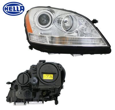 Mercedes hella bi xenon headlight assembly for Mercedes benz ml350 headlight bulb