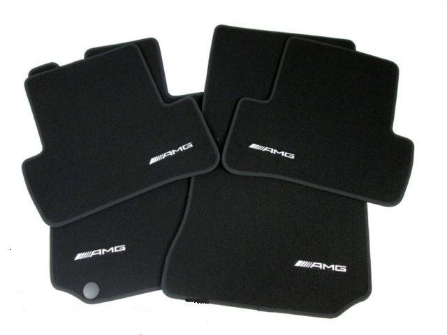 Mercedes benz c class amg floor mats for Mercedes benz floor mats