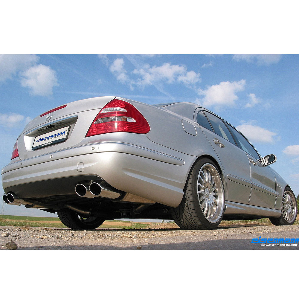 Mercedes benz e class eisenmann performance for Mercedes benz exhaust