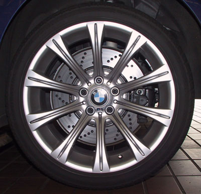 BMW M5, rims