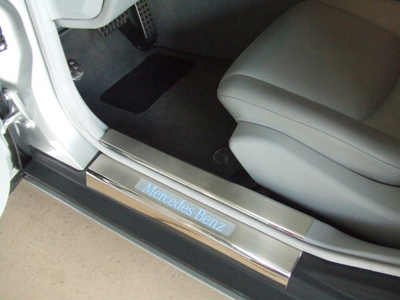 Mercedes benz c class w203 39 02 39 07 sedan for Mercedes benz door sill