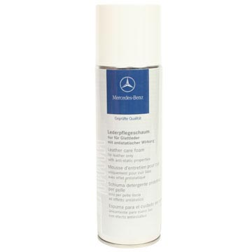 Mercedes leather care foam for Mercedes benz cleaning products